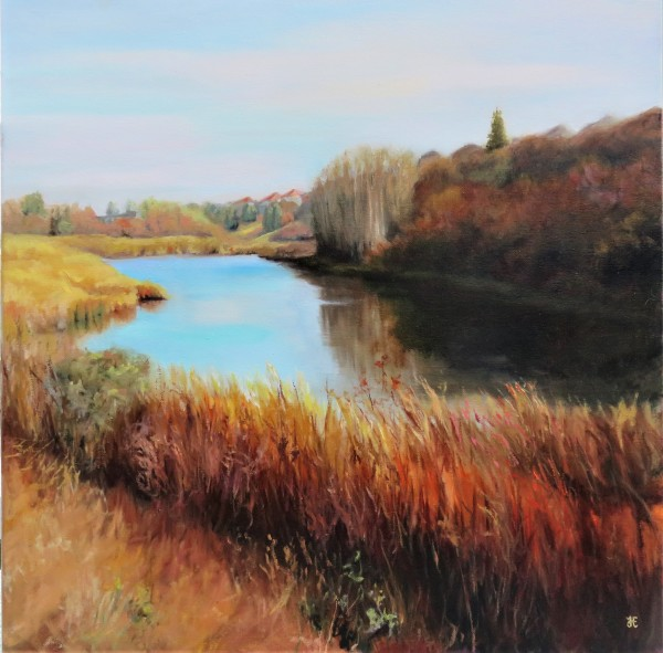 Tranquil Waters by Yanina Eberhard