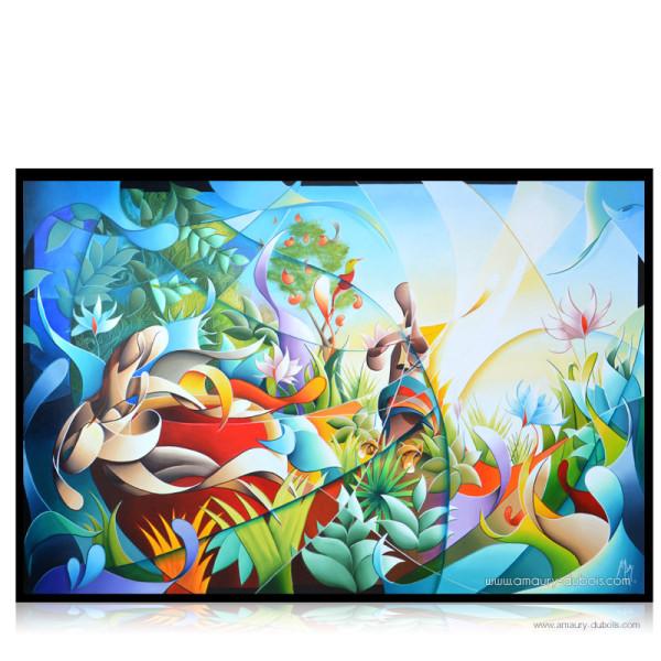 Jungle paradise by Amaury Dubois