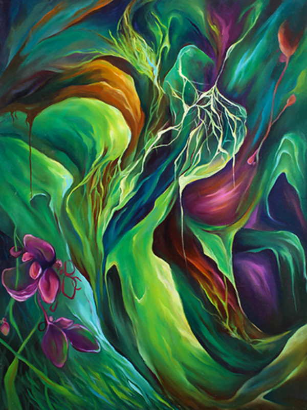 Sleeping Roots Awaken by Emily Baker