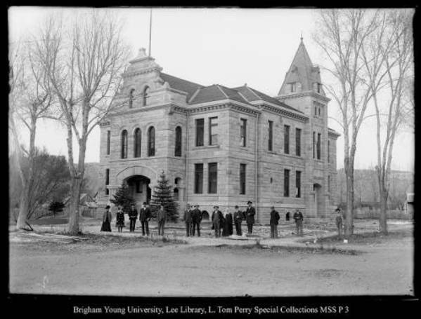 [The New Summit County Courthouse Upon Completion] by George Beard