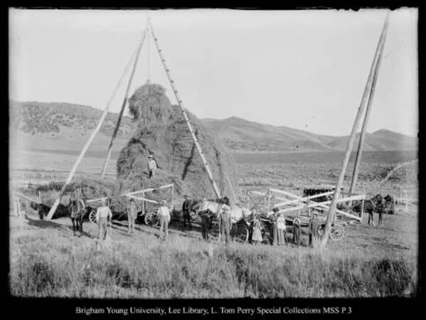 [Hay rig near Coalville] by George Beard