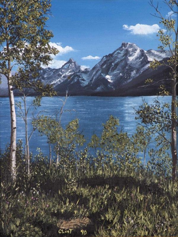 Jenny Lake at the Tetons by Clint Marchant
