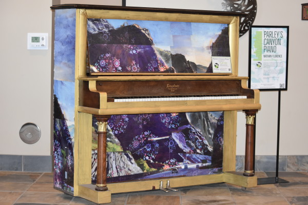 Parley's Canyon Art Piano by Nathan Florence