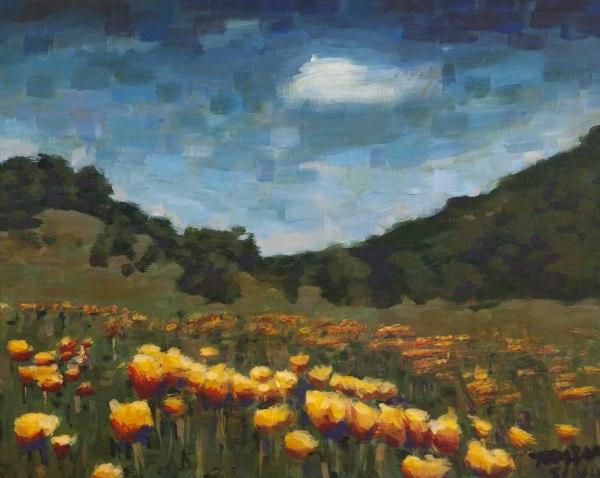 Yellow in Bloom by Martina Hebert