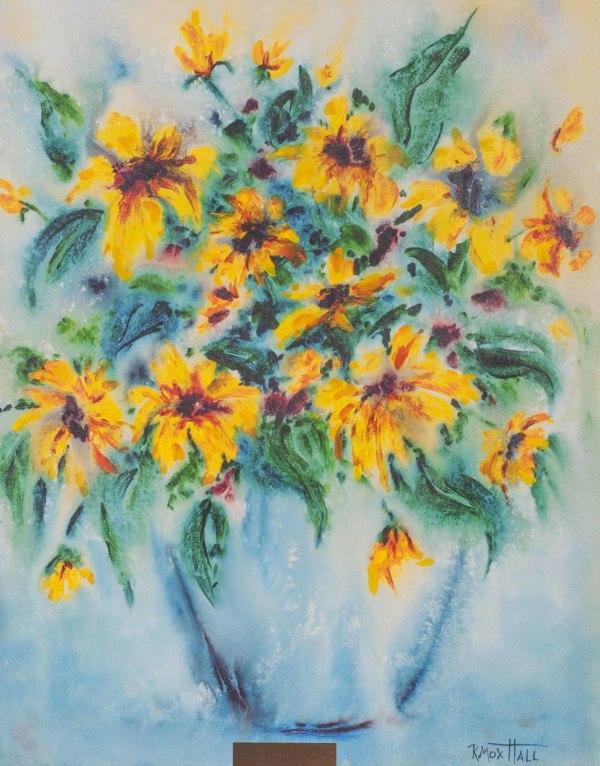 Sunflowers by Renee Mox Hall