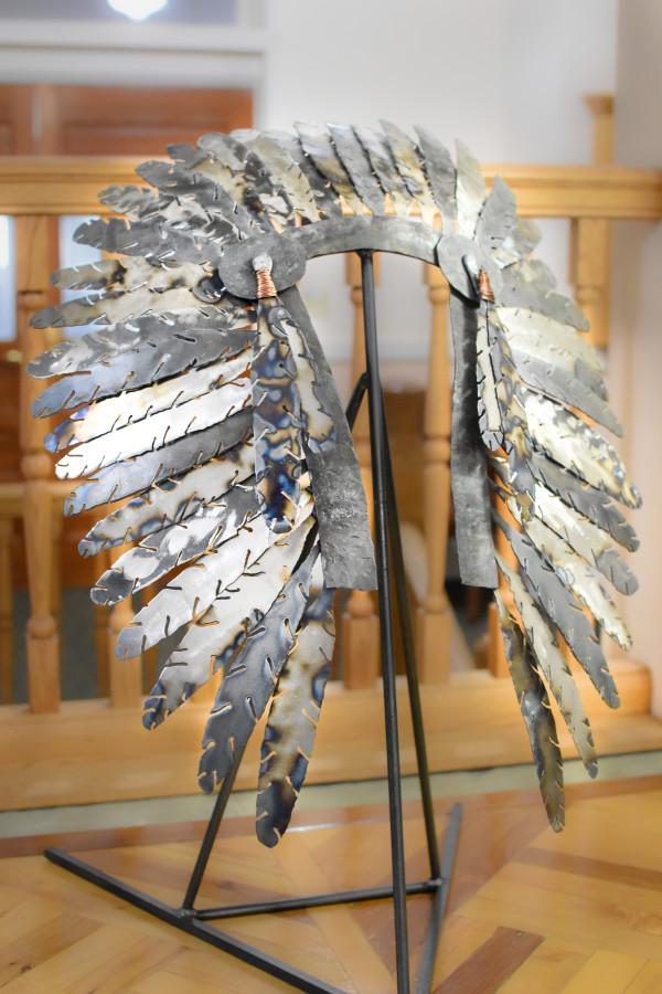 Native American Headdress by Sam Crittenden