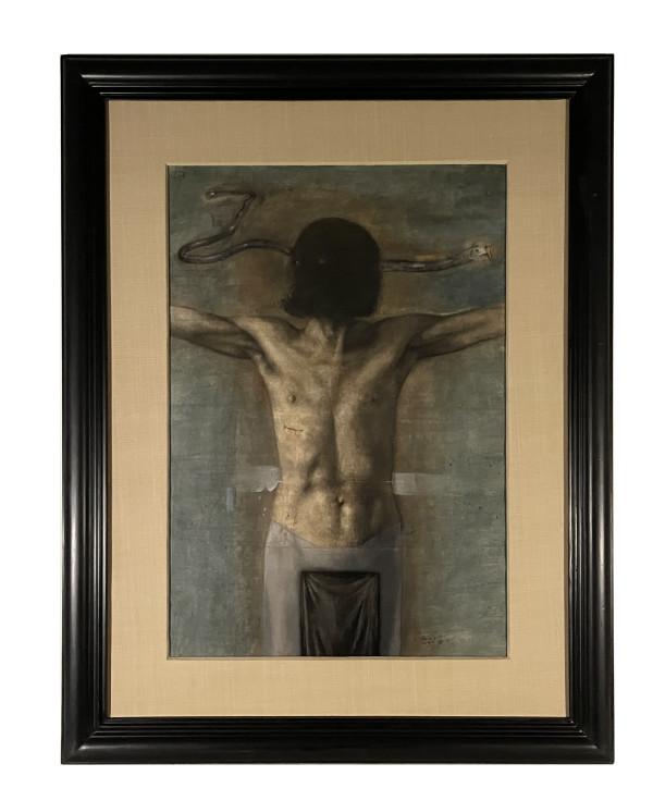 Black Christ (Cristo Negro) by Arturo Rivera