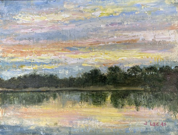 View Towards Willow Point by Janet Lucas Beck