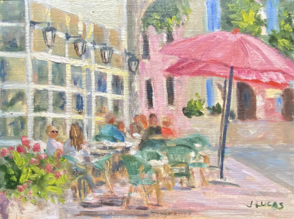 People Watching by Janet Lucas Beck