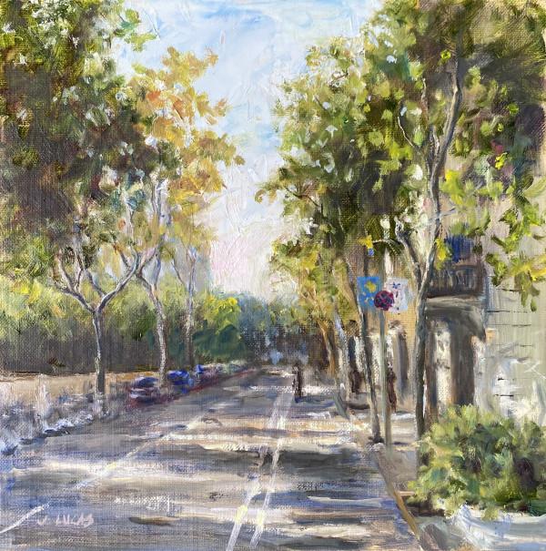 Dappled Sunlight by Janet Lucas Beck