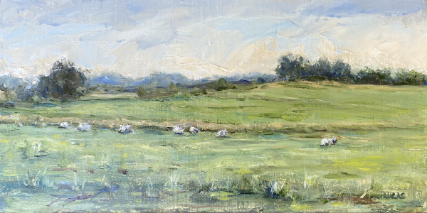 Grazing by Janet Lucas Beck