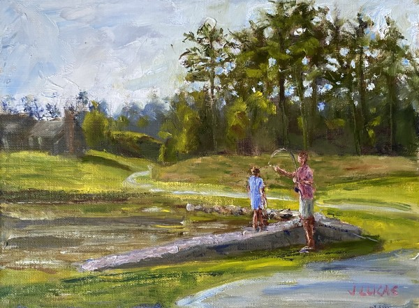 Learning to Cast by Janet Lucas Beck
