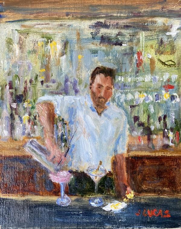 Hey Bartender by Janet Lucas Beck