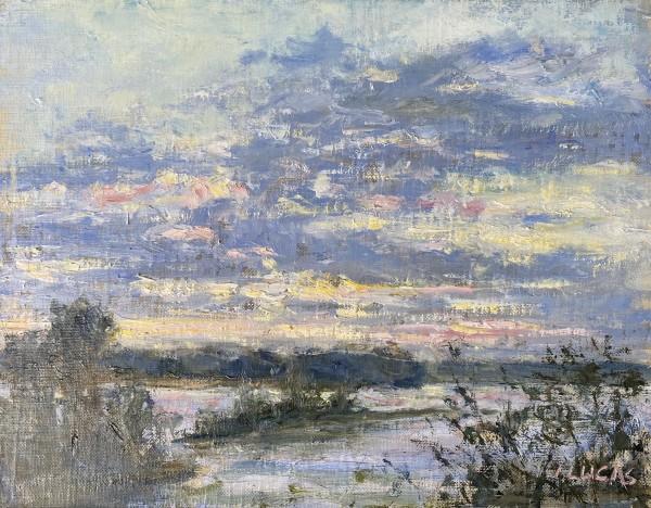 Purple Sky by Janet Lucas Beck