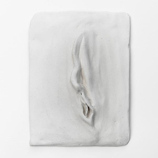 "Ceramic yoni ""Unfolding 1 from 3"" by Caludi Yoniart"