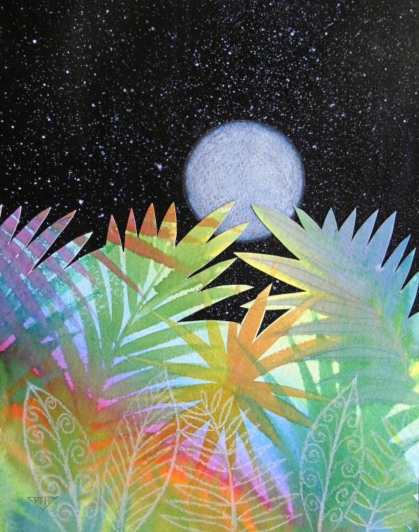 Meditation at Moonrise by Jennifer Baird