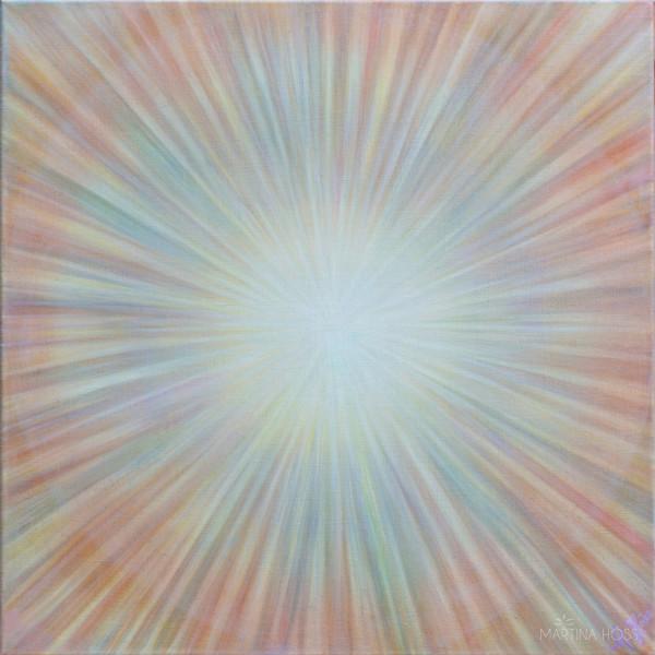 Inward radiating light by Martina Höss
