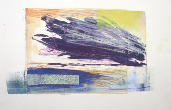 Purple Cloud III by Ruth Ander
