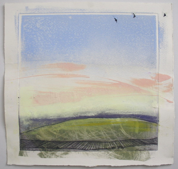 Sunrise, Badbury Hill v.6 by Ruth Ander