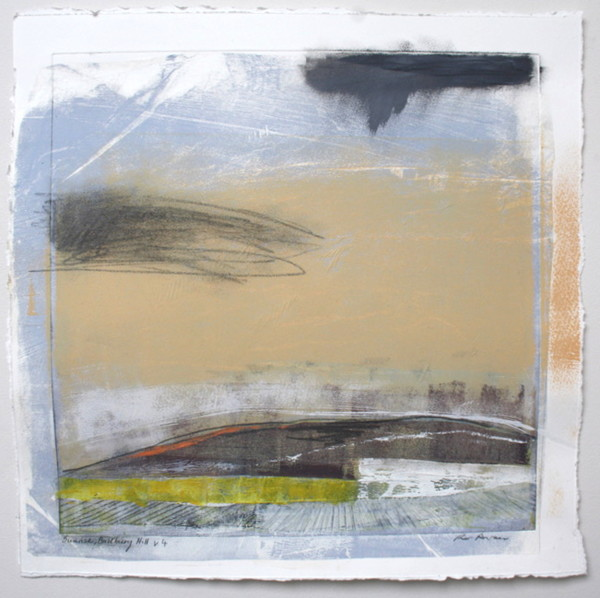 Sunrise, Badbury Hill v.4 by Ruth Ander