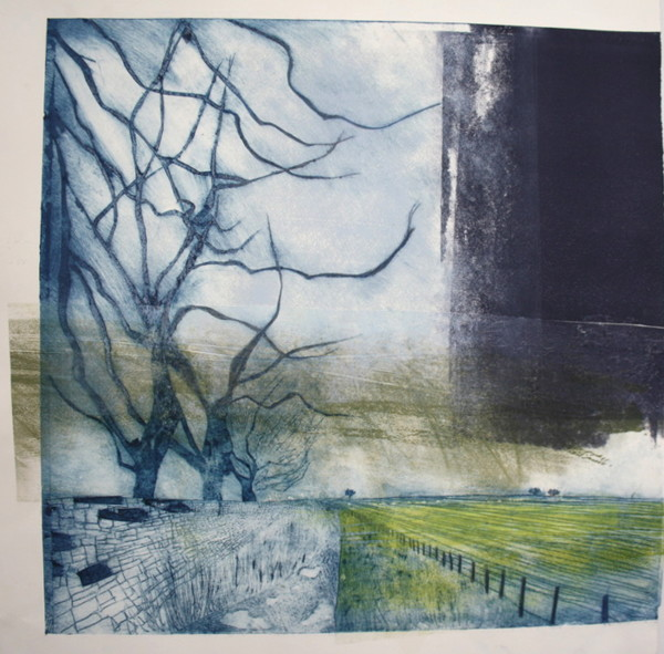 Winter, Cotswolds v.2 by Ruth Ander