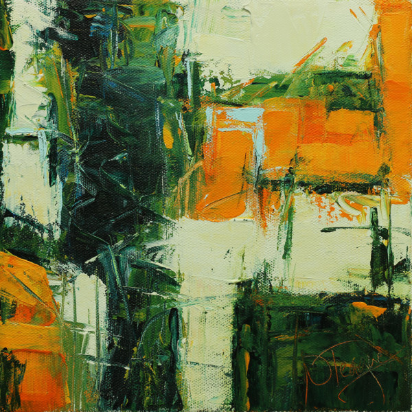 Green To Gold 2 by Nancy Teague