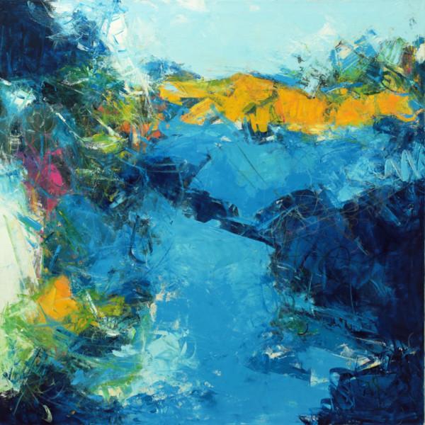 Blues Wonder by Nancy Teague