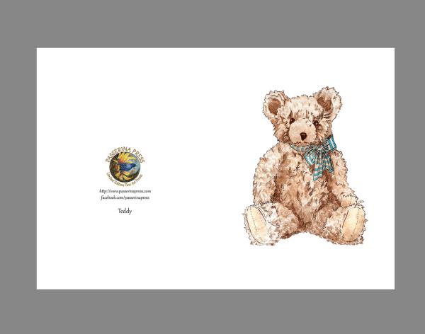 GreetingCard-TED-sizeA6-8pak by Passerina Press