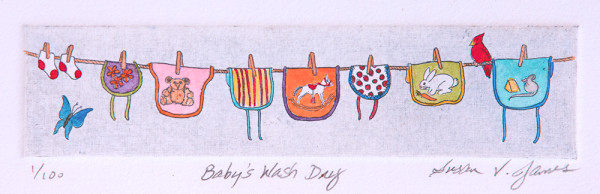 Baby's Wash Day #1 of 100 by Passerina Press