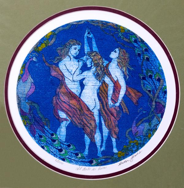 Il Ballo dei Pavone (The Dance of the Peacocks) #8 of 200 by Passerina Press