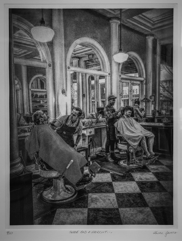 Shave And A Haircut... #1 of 50 by Passerina Press