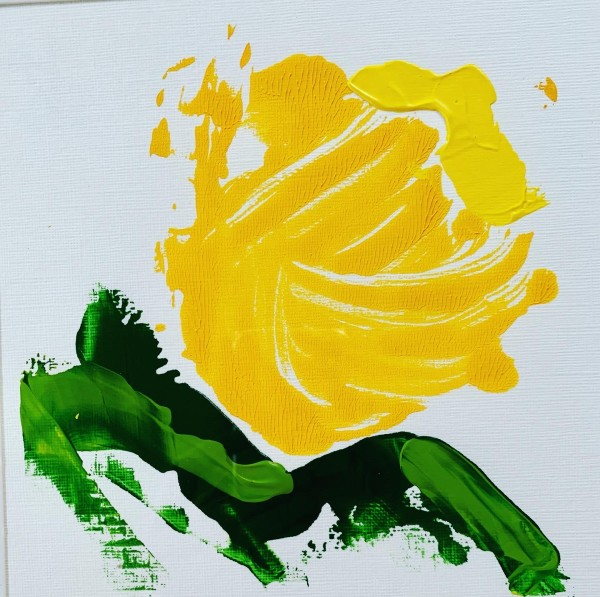 Yellow Rose by Claire Necessary