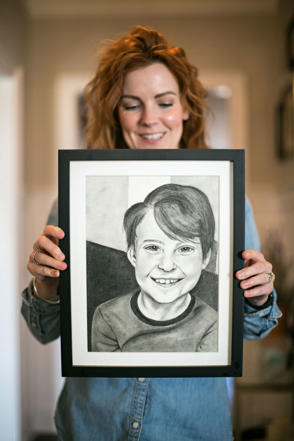 Jackson, age 7 by Claire Necessary