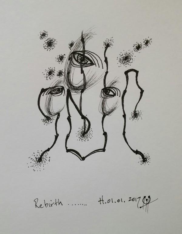Rebirth by HB Barry Strasbourg-Thompson BFA
