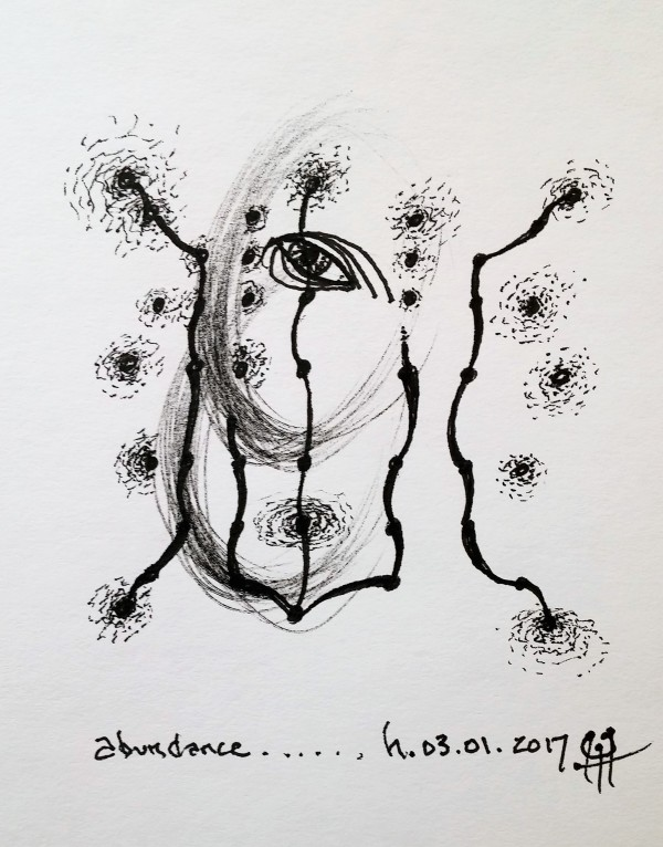 Abundance by HB Barry Strasbourg-Thompson BFA