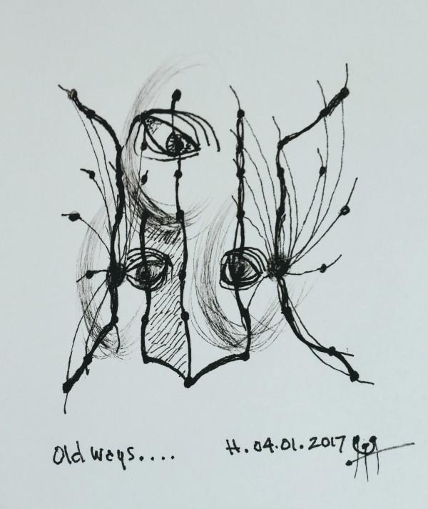 Old ways by HB Barry Strasbourg-Thompson BFA