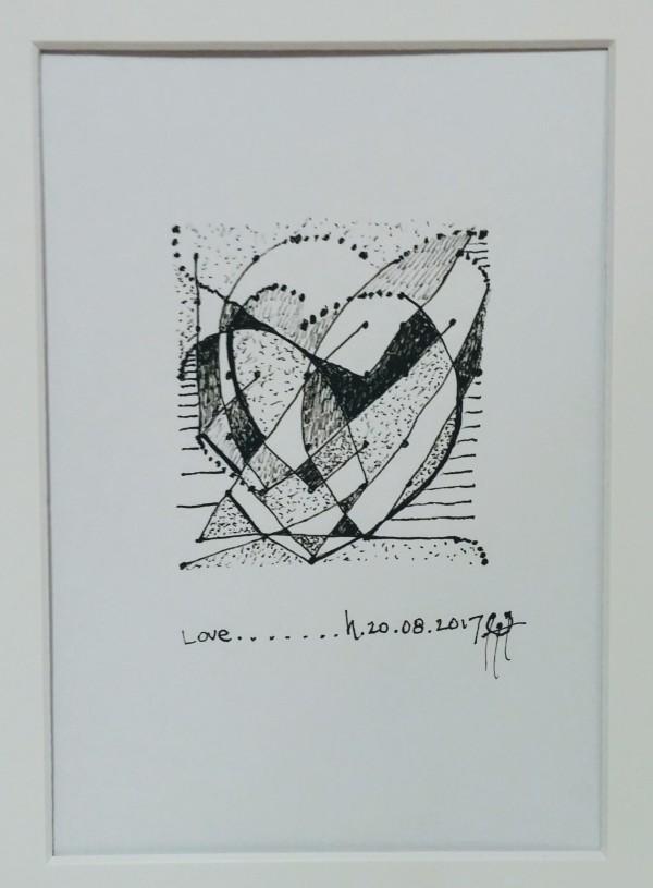 Love by HB Barry Strasbourg-Thompson BFA