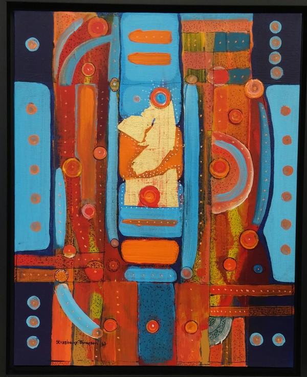 Namaste h171203 by HB Barry Strasbourg-Thompson BFA