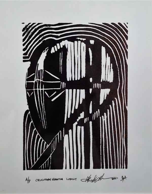 Cruciform Variation  a/p by HB Barry Strasbourg-Thompson BFA