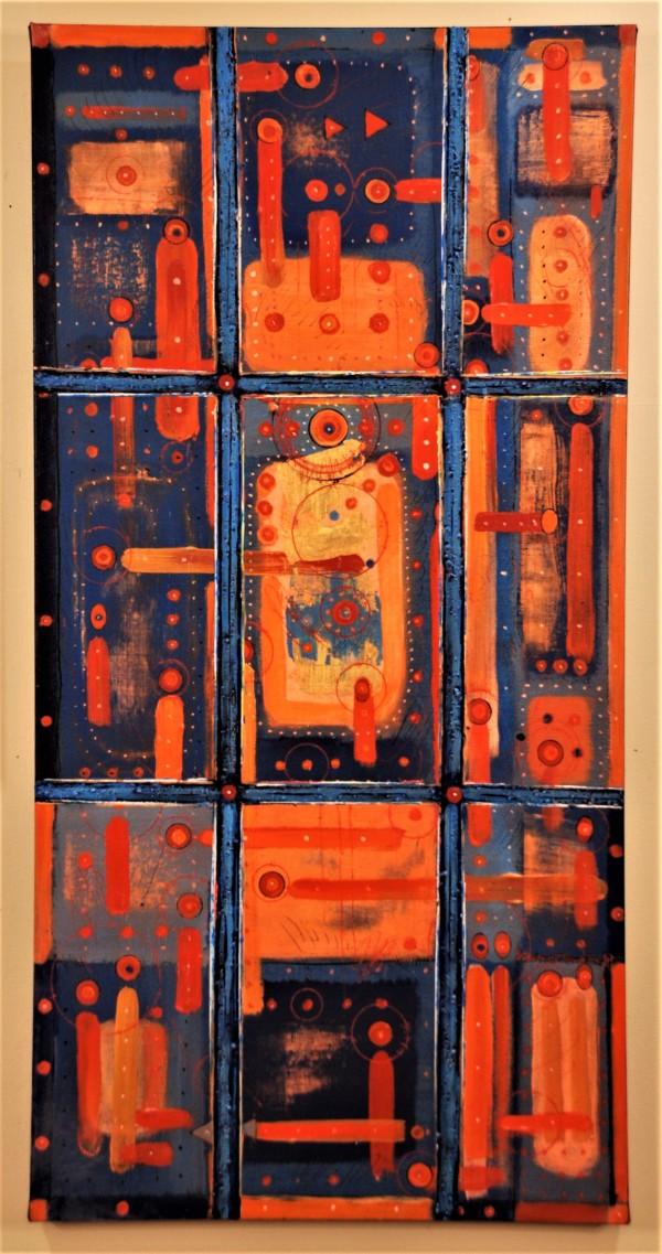 Witness (Homage to Michael Schreier) by HB Barry Strasbourg-Thompson BFA
