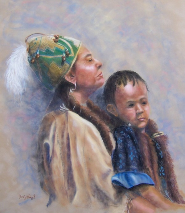 Native Mother & Child