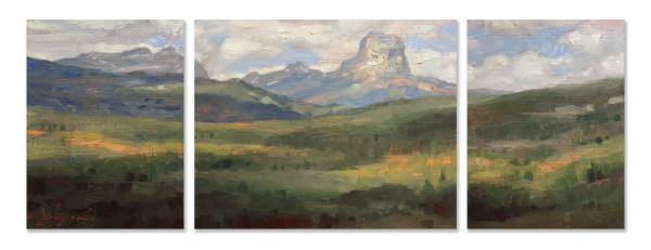 Chief Mountain Hills by James L Johnson