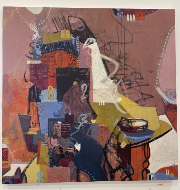 Afternoon Tea in the Deset الصبية by Samar Albader