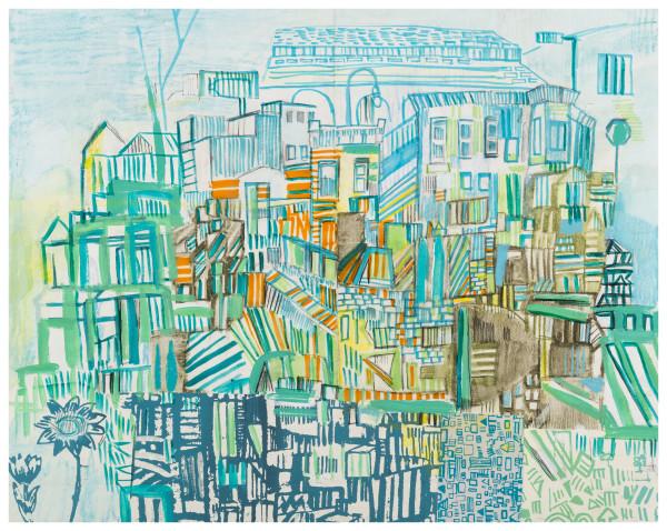 transit dreams 4 by Miriam Singer