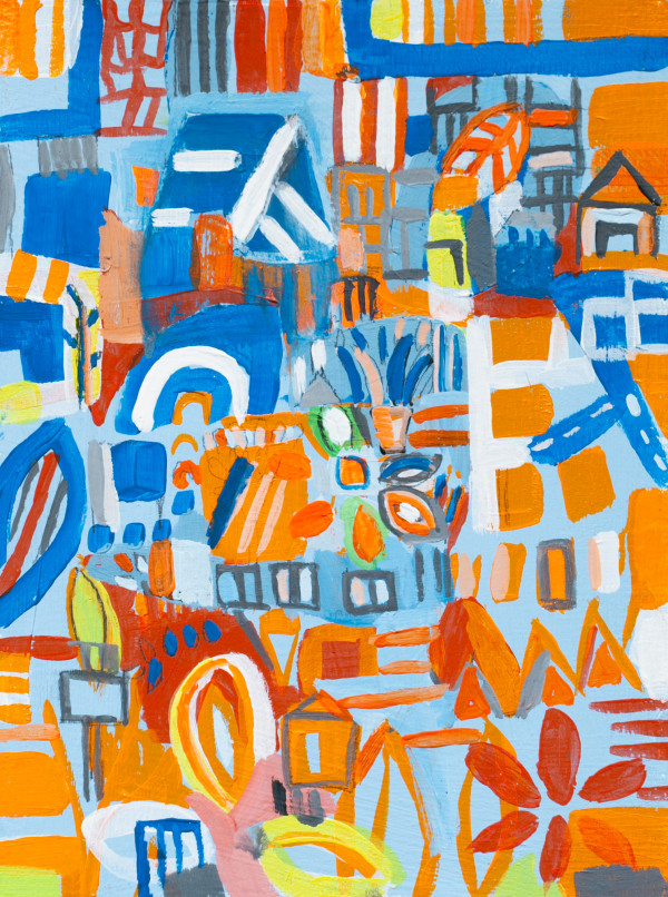 dense route 3 by Miriam Singer