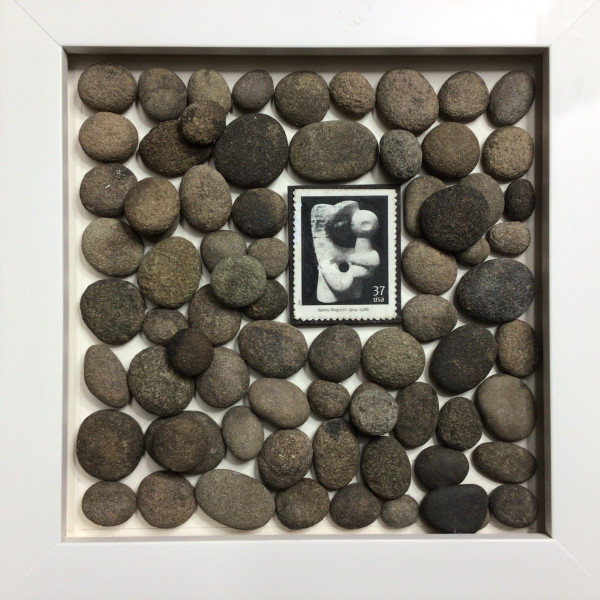 Noguchi and the River Pebbles by Richard B. Aakre