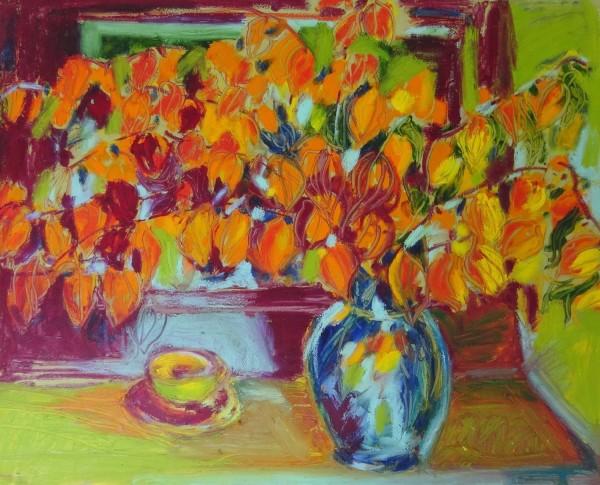 The Orange Lanterns by Flora Doehler