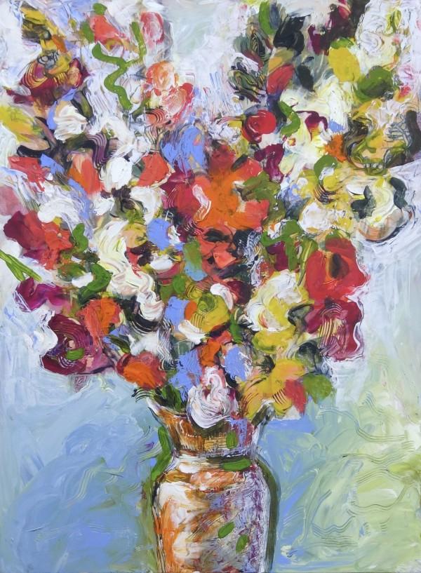 Gladiolas by Flora Doehler