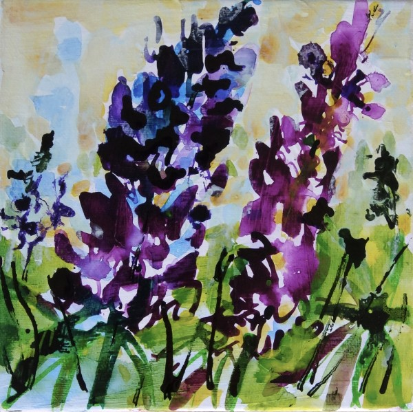 Lupins by Flora Doehler