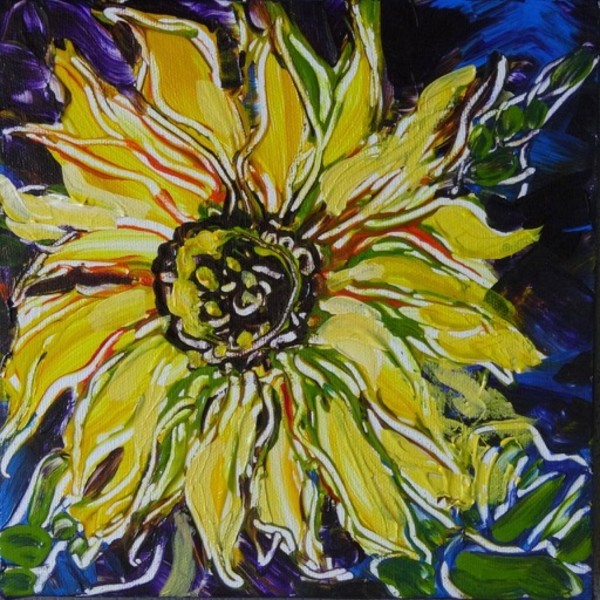 The Sunflower by Flora Doehler
